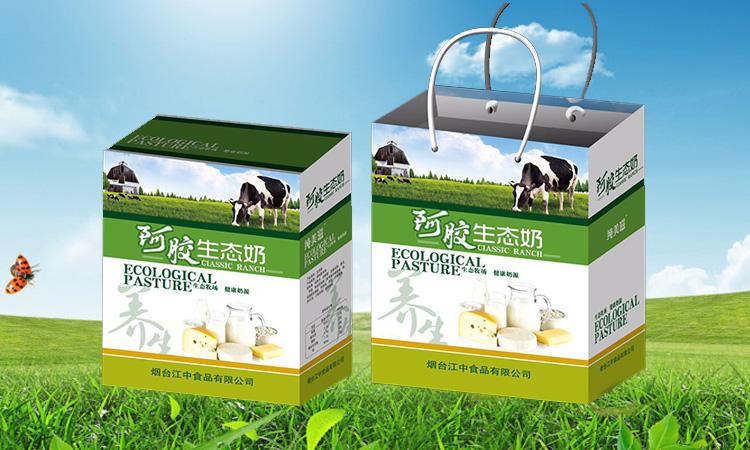 烟台江中阿胶生态奶
