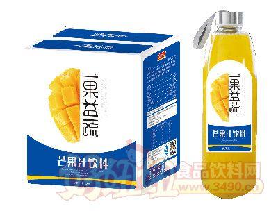 一果益蔬芒果汁1lx6瓶