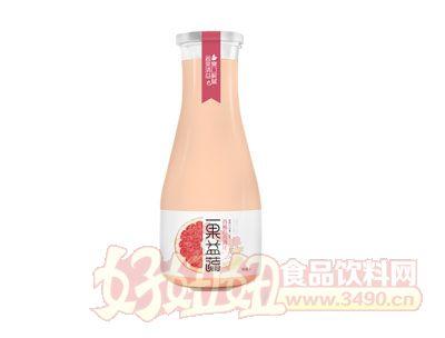 一果益蔬西柚百合清汁1l