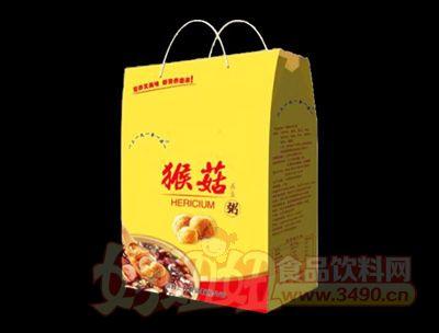 猴菇养生粥手提袋