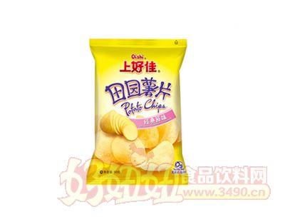 上好佳田园薯片原味50克