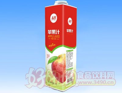 乐然-苹果汁饮料1L