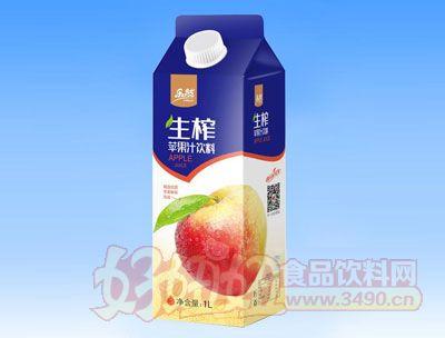 乐然-生榨苹果汁饮料1L