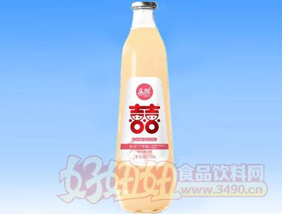 乐然-双喜黄桃汁果汁饮料1.25L