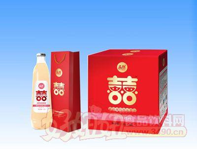 乐然-双喜黄桃汁饮料1.25Lx6瓶