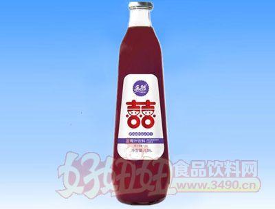 乐然-双喜蓝莓汁果汁饮料1.25L
