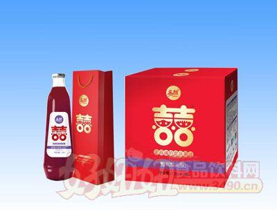 乐然-双喜蓝莓汁饮料1.25Lx6瓶