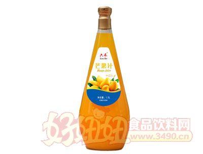 六禾芒果汁1.5l玻璃瓶装