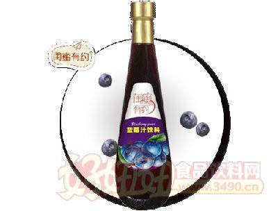 闺蜜有约闺蜜有约・蓝莓汁饮料-828ml
