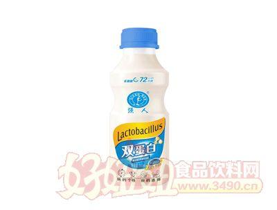 强人双蛋白复合蛋白乳酸菌饮料350ml