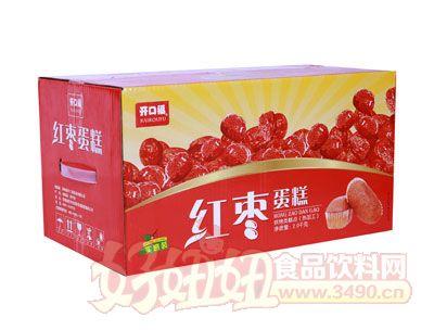 开口福红枣蛋糕2千克