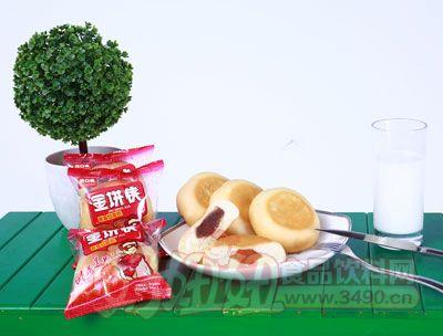 开口福金饼侠草莓馅面包散装