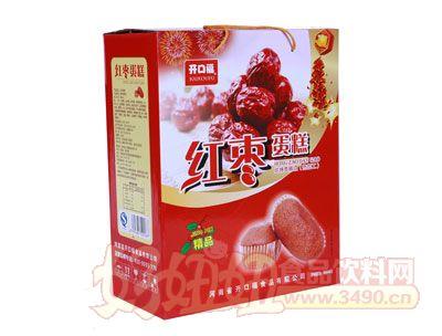 开口福红枣蛋糕1000克