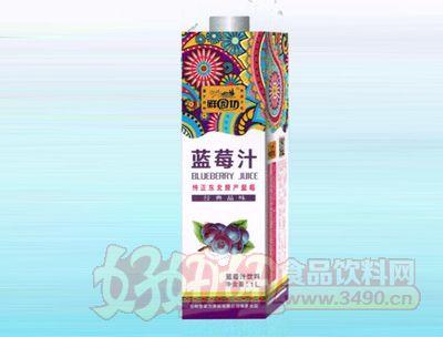 雪菲力蓝莓汁1L