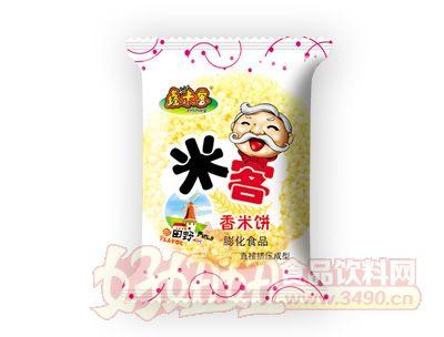 鑫米客米客香米饼直接挤压成型