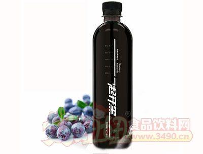蓝莓饮料效果图