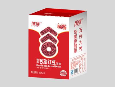 维维营养谷动红豆浓浆250ml×16