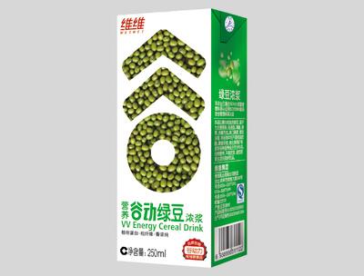 维维营养谷动绿豆浓浆250ml