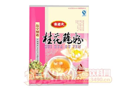 秦老太630克桂花藕粉