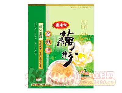 秦老太630克原味藕粉