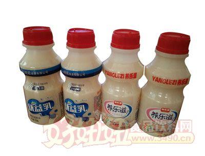 均洋优益乳 养乐滋乳饮品