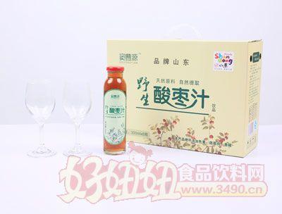 野生酸枣汁-300ml×8瓶