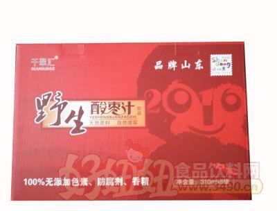 野生酸枣汁-310ml×8罐