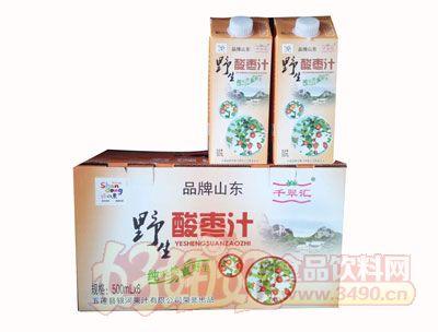 野生酸枣汁-500ml×6