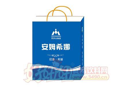 百岁山发酵型安姆希娜酸奶饮品215ml×12手提袋手提袋