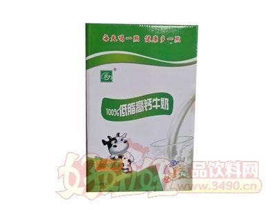 康发低脂高钙牛奶