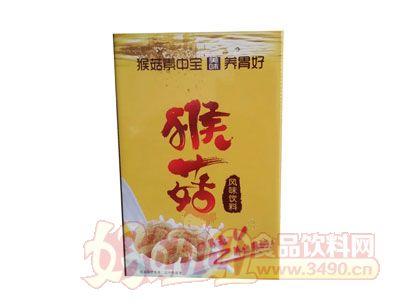 康发猴菇风味饮料箱装