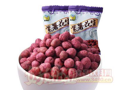 来伊份紫薯花生250g