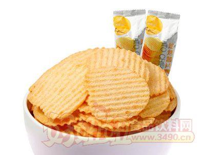 来伊份焙烤薯片(原味)250g