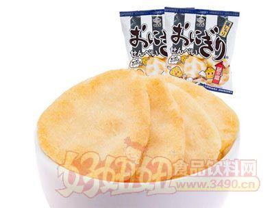 来伊份万寿家匠盐饭团型膨化米饼