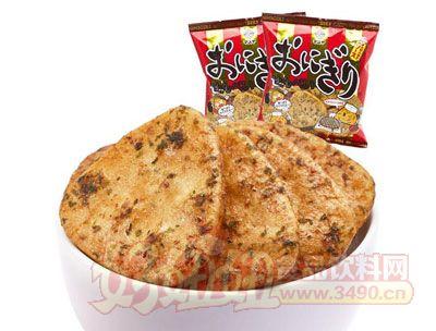 来伊份万寿家牌沙司味饭团型膨化米饼