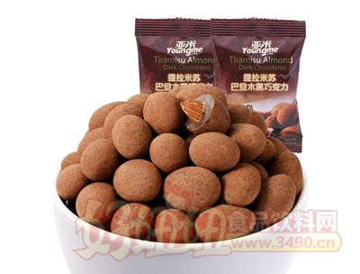�硪练萏崂�米�K巴旦木黑巧克力200g