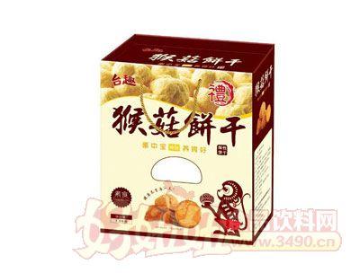 台趣猴菇酥性饼干礼盒装1.5千克