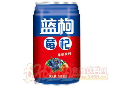晨铭蓝莓枸杞果味饮料310ml