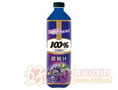 晨铭蓝莓汁饮料1.5L