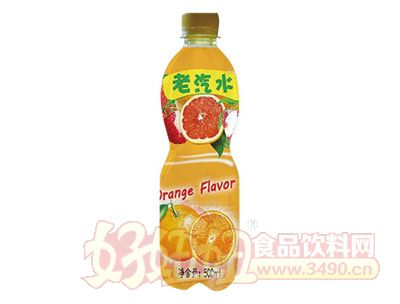 晨铭老汽水香橙味500ml