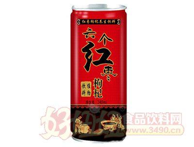 晨铭六个红枣枸杞植物饮料240ml