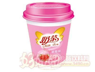 晨铭奶茶草莓味75g
