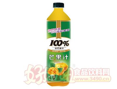 晨铭芒果汁饮料1L