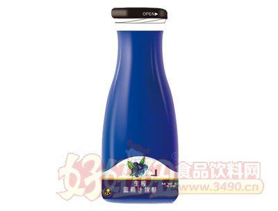 晨铭生榨蓝莓汁饮料1000ml