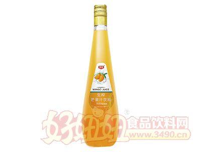 晨铭生榨芒果汁饮料828ml