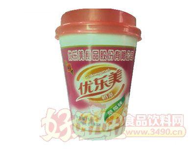 优东美奶茶草莓味