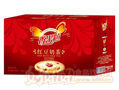 香果粒红豆奶茶64gx30杯