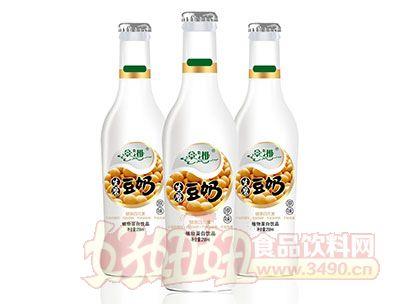 景湘原味生磨豆奶植物蛋白饮料PE瓶258ml