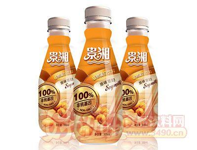景湘100%非转基因原味豆奶PE瓶300ml