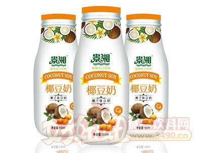 景湘椰子味豆奶PE瓶150ml